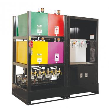 Станция хранения и обработки масла