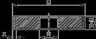 Профиль шлифования канавки 1а1