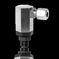 Угловой соединитель 90 градусов с поворотной секцией