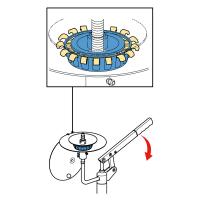 Приспособление для заполнения подшипников пластичной смазкой