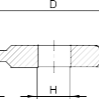 Профиль шлифования канавки 14а1