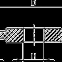 Профиль шлифования канавки 14A1